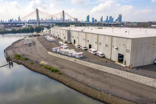 Yaboo Fence - Fedex, Maspeth, NYC. NYC Drone Photography by Phot