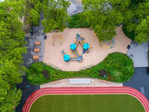 Jesse Owens Playground and Pool