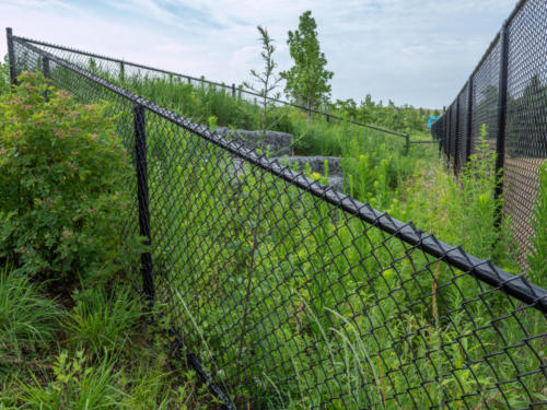 Yaboo Fence - Shirley Chisolm Park. Drone Photography by Photofl
