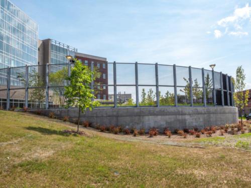 Yaboo Fence - South Beach Psychiatric Center, Staten Island NYC.